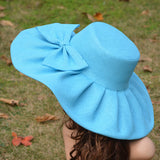 Kentucky Derby Wide Brim Hat Wide Fedora Hats Women Floppy Hats Cartwheel Hats