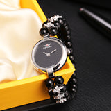 925 Sterling Silver Women Watches Luxury Watches Women Cubic Zirconia Ladies Watches