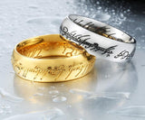 Tungsten Lord of the Rings Rings for Men Rings for Women Fashion Jewelry