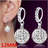 CZ Diamond Stud Earrings Bridal Jewelry Earrings for Women Vintage Jewelry
