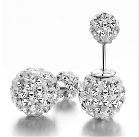 CZ Diamond Stud Earrings Earrings for Women Bridal Jewelry Cubic Zirconia Earrings