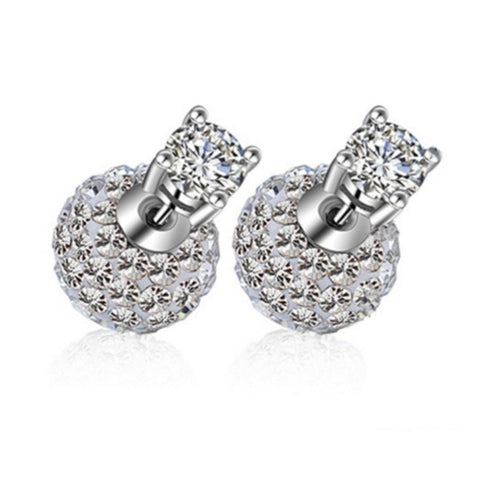 CZ Diamond Stud Earrings Bridal Jewelry Fashion Jewelry Earrings for Women