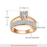 Rose Gold Engagement Rings Rings for Women Rose Gold Rings Promise Rings