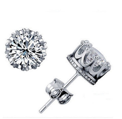 CZ Diamond Stud Earrings Cubic Zirconia Earrings Earrings for Women Bridal Jewelry