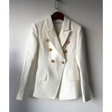 Double Breasted Blazers for Women Ladies Blazer Blazer Jacket White Blazer Coat