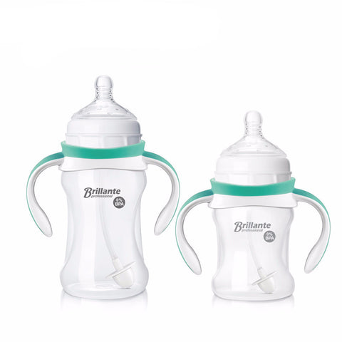 Feeding Bottle Baby Bottle Feeding Sippy Cup With Handles Baby Cup Milk Nibbler