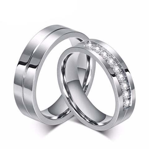 Cubic Zirconia Rings Wedding Ring Sets Promise Rings Wedding Bands Rings for Men