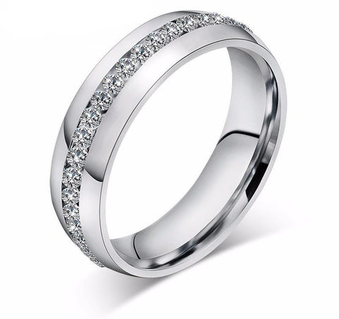 Infinity Cubic Zirconia Rings Rings for Women Promise Rings Wedding Bands