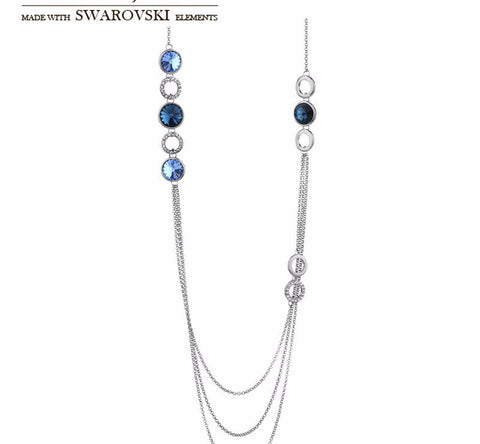 Made with Swarovski Crystal Jewelry Necklaces for Women Gold Chains Women