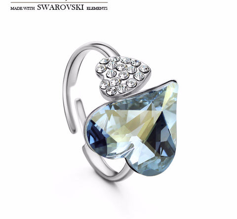 Made with Swarovski Elements Crystal Rings Promise Rings Rings for Women