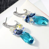 Made with Swarovski Elements Crystal Earrings Drop Earrings Earrings for Women