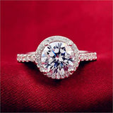 Cubic Zirconia Rings Wedding Bands Wedding Engagement Rings Rings for Women
