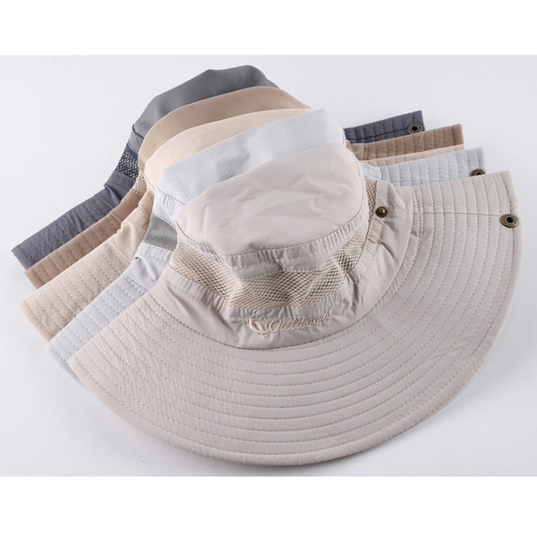Sun hat men bucket hats women summer fishin cap wide brim uv protection flap hat breathable 341e23ad 3b76 4e85 9dd8 7fbcbe097d6c grande
