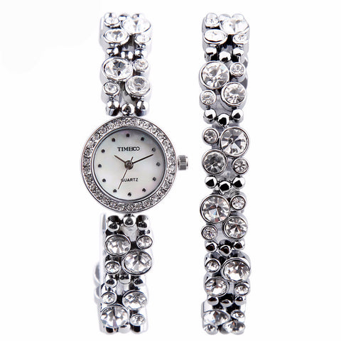 Cubic Zirconia Bracelet Watch Women Watches Ladies Watches Luxury Watches Women