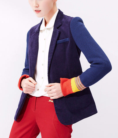 Blazers for Women Ladies Blazer Blazer Jacket Blue Blazer Blazer Jacket Coat