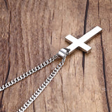 Stainless Steel Gold Chains Men Gold Chain Gold Cross Necklace Fashion Jewelry