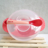 Temperature Sensing Baby Feeding Set Baby Feeding Bowl Set Baby Tableware Dishes
