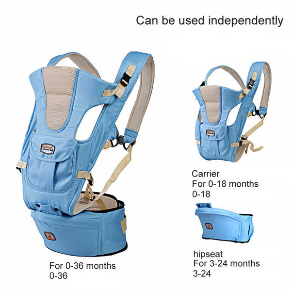New 0 36m infant toddler ergonomic baby carrier sling backpack bag gear with hipseat wrap newborn c6e82113 9ca7 49a1 863b f8cfc70c074b grande