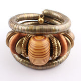 Charm Bracelets Wooden Bangles Bracelets for Women Friendship Bracelets