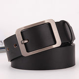 Belts  for Men Genuine Leather Belt Luxury Strap Mens Belts Buckle Vintage Waist Belt