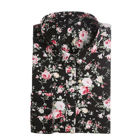 Blouse Floral Women's Blouse Shirts for Women Ladies Tops Ladies Shirts Long