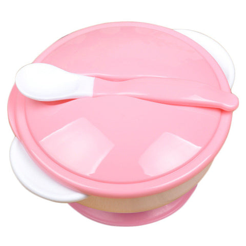 3pc Baby Feeding Set Baby Spoon Bowl Baby Feeding Bowl Set Baby Tableware Dinner