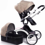 Top High End Bassinet 2 in 1 Luxury Travel System Baby Strollers Pram Pushchairs
