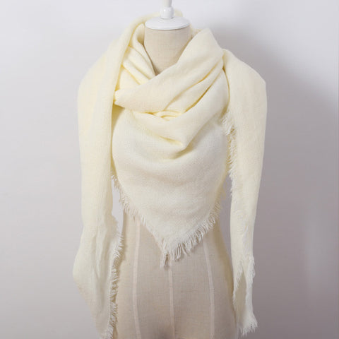 Square Scarf Women's Scarf Blankets Scarf Luxury Shawl Cashmere Scarfs Scarves