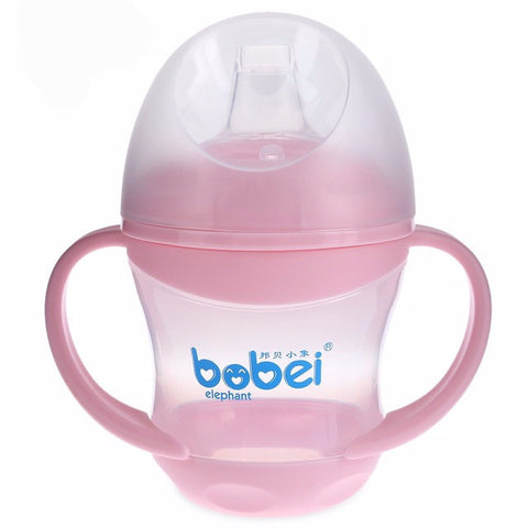 Juice Milk Baby Bottle Sippy Cup With Handles Baby Cup Toddlers Sippy Cup Bottle