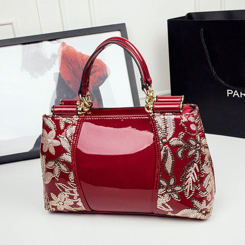 Patent Leather Tote Bags Designer Handbags Sale Handbags for women Shoulder Bags