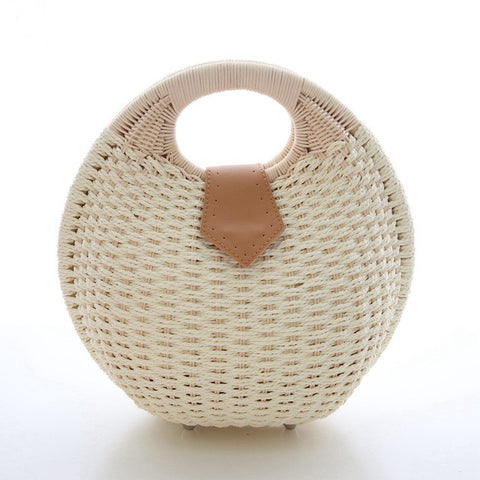 Top Handle Summer Handbags Handbags for Women Straw Bags Purses for women