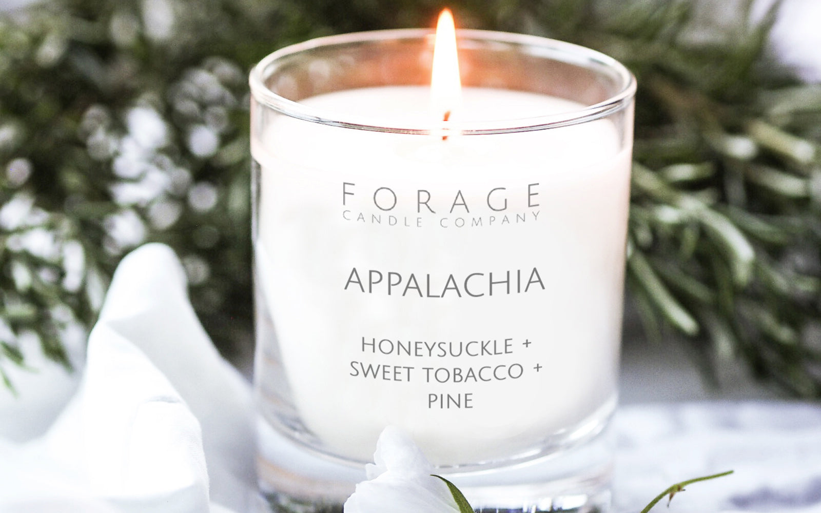 Lotion Candle Appalachia Scent