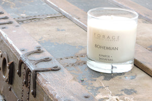 Lotion Candles by Forage Candle Co
