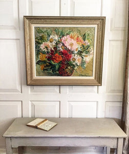 Mid Century French Painting.