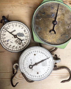 Old Salter Butcher Scales