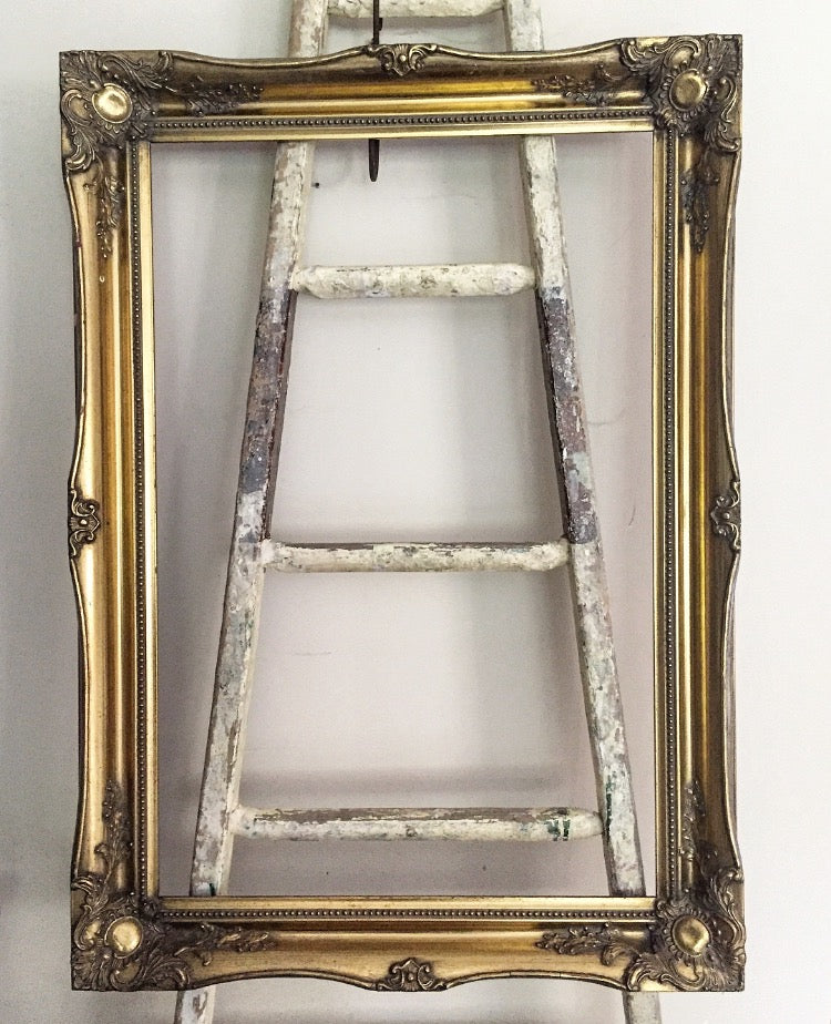 1970's Gilt Wood Frame