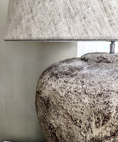Belgian Textured Ceramic Lamp