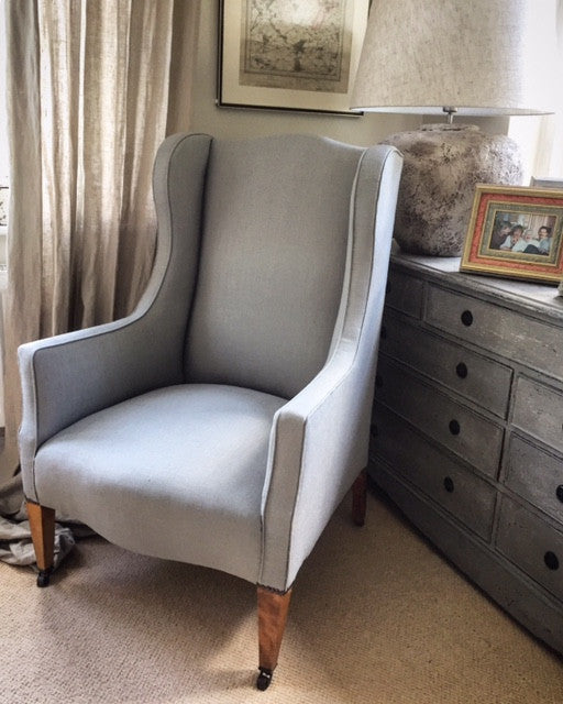 Late 19th century Wing Chair.