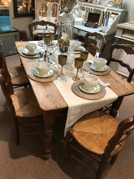 Mid 19th Century French Farmhouse Table