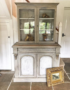 19th century Cabinet Bookcase