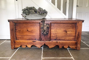 Antique Spanish Coffer