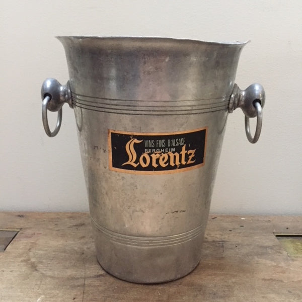 Mid century French Champagne Bucket.