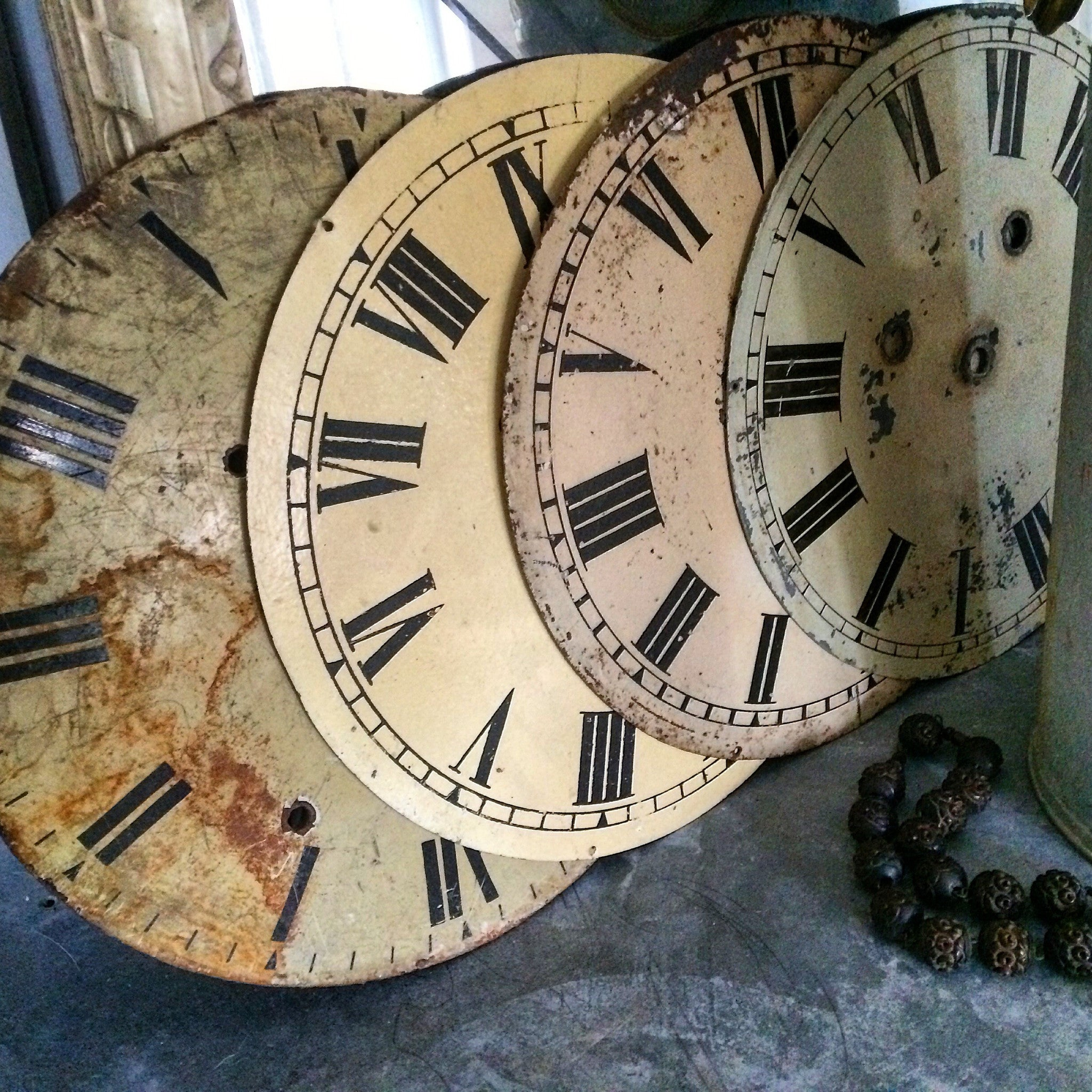 Antique Clock Faces