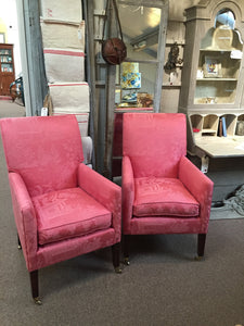 Antique 19th century Library Chairs