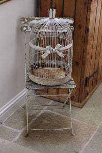 Early 20th century French Domed Bird cage.