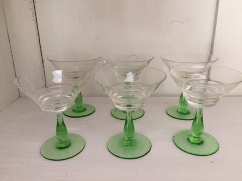 1950's Cocktail Glasses
