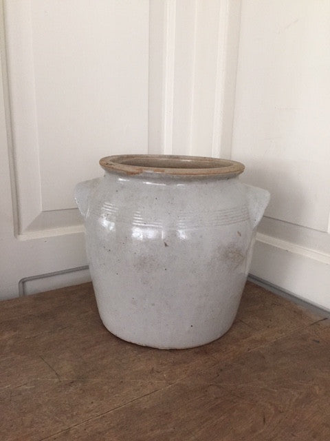 Vintage French Confit Pot