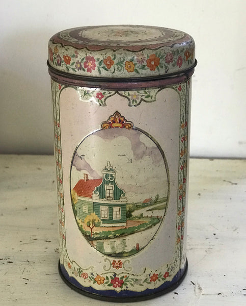 Vintage Dutch Confectionery Tin