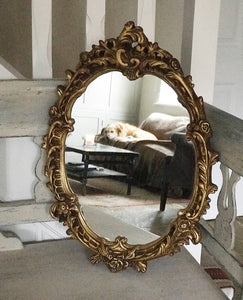 Early 20th century Rococo style Mirror in Gilt Frame.