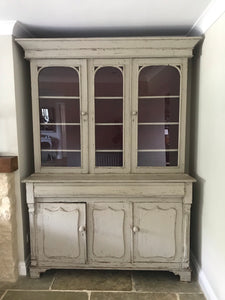 Late 19th century Victorian Glazed Bookcase Cupboard